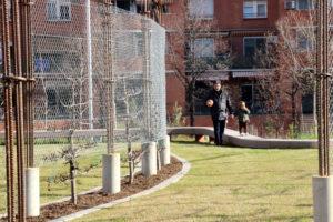 En plaza España, los vecinos piden sombra y vallas en la zona infantil. El Ayuntamiento toma nota. 1