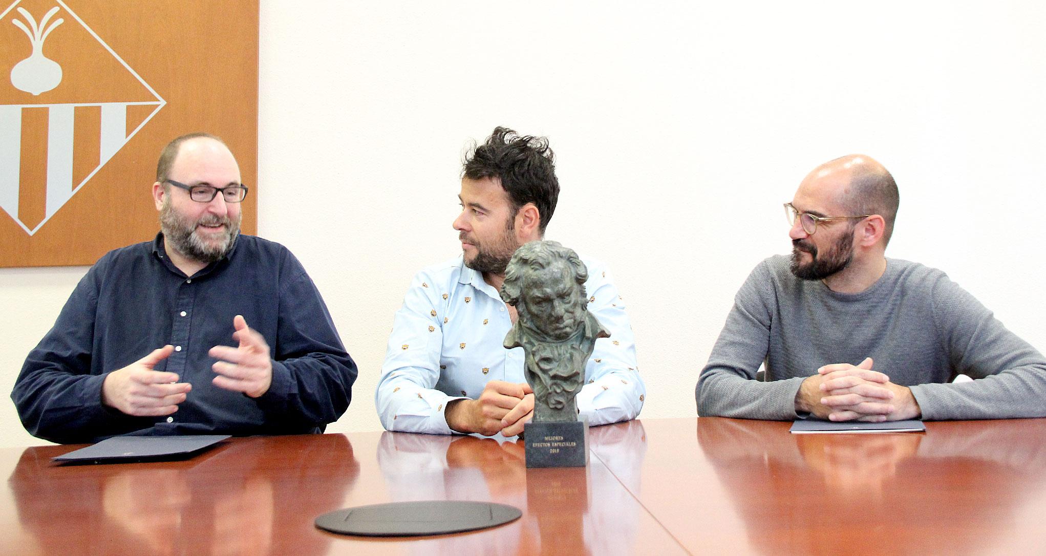 """Lluís Rivera, Premio Goya por efectos especiales: """"Mientras estén la Comercial del Caucho y Gabarró Germans, seguiré en Sabadell"""" 1"""