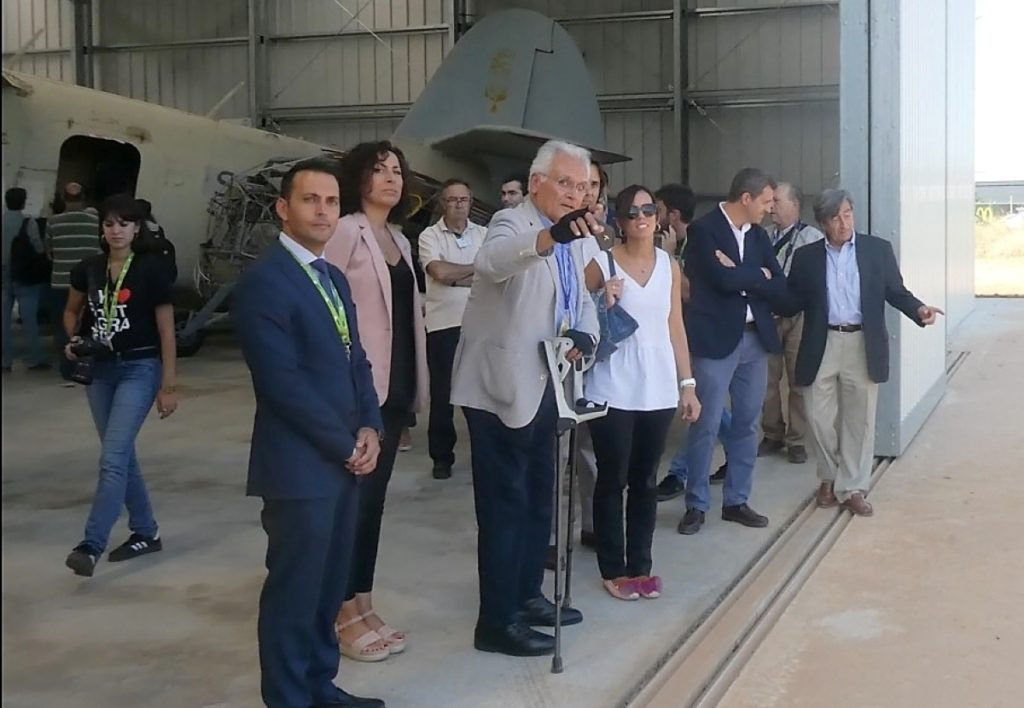 Día histórico para Sabadell:  Se inaugura en el Aeropuerto el Museo-Jardín Aeronáutico de Catalunya 1