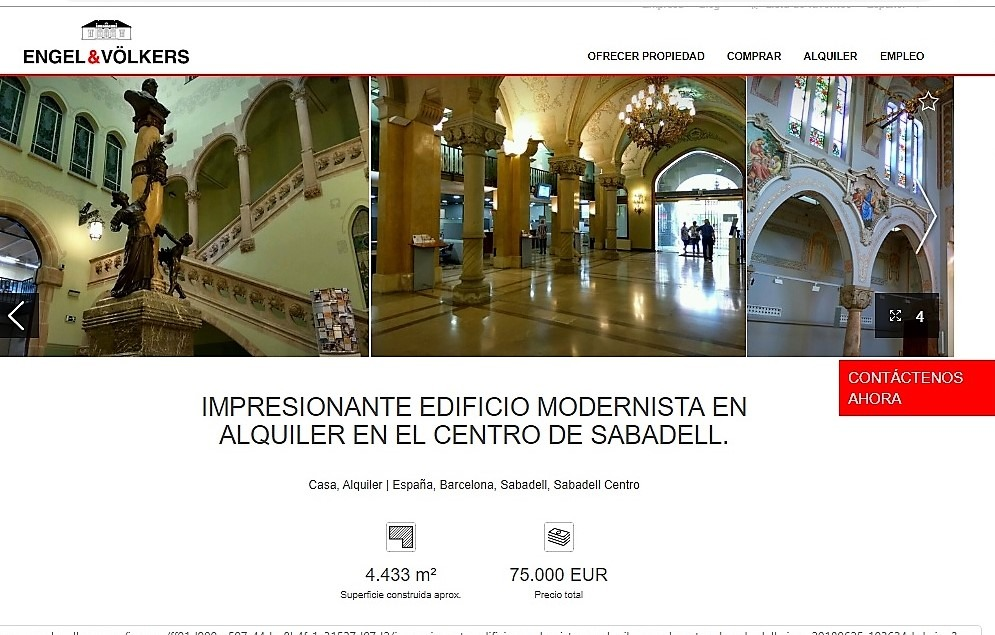"""Can Deu y los edificios de Caixa Sabadell en saldo: """"Escaqueo"""" de Farrés y Gibert (PSC) 1"""